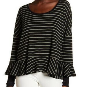 Free People We the Free Round About Knit Top Sz S